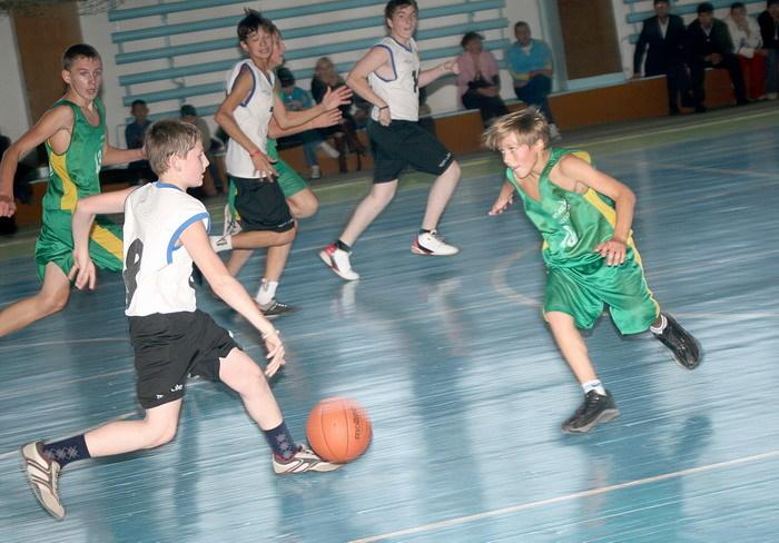 Баскетбол дети