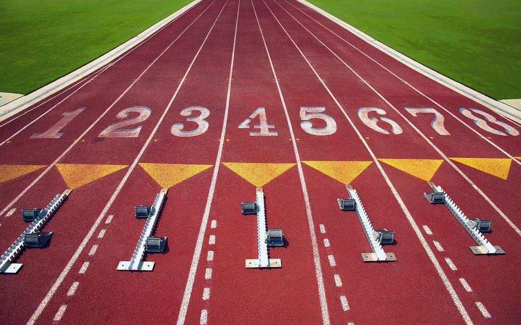 Лёгкая атлетика старт