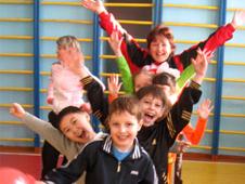 Юные легкоатлеты Белогорска