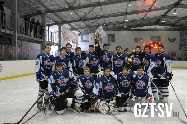 Свободненские юные хоккеисты