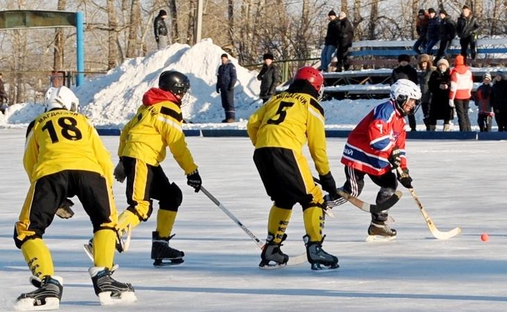 Хоккей с мячом дети Магдагачи