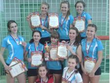Белогорские волейболистки