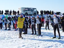 Белогорские лыжники
