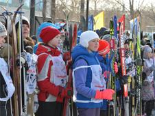 Лыжня России в Белогорске