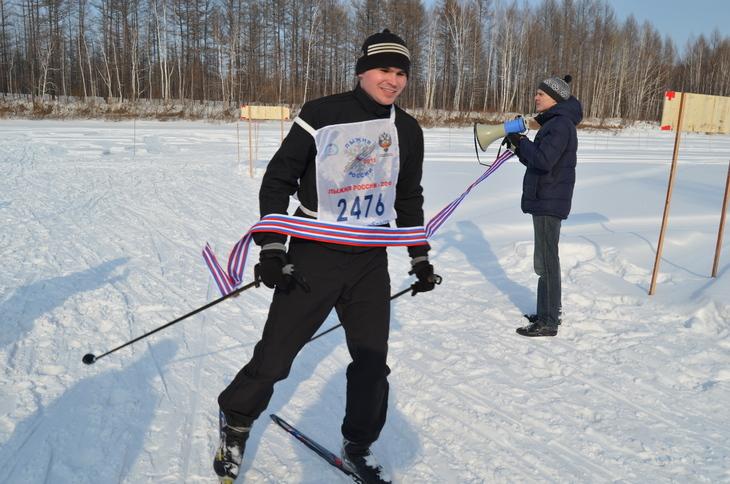 Лыжня России в Тындинском районе