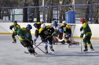 хоккей села